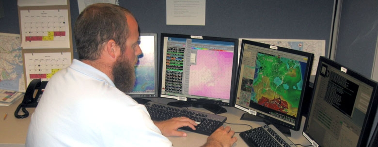 David Glenn of the National Weather Service