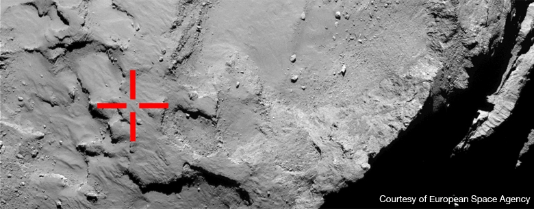 First Touchdown on 67P/C-G