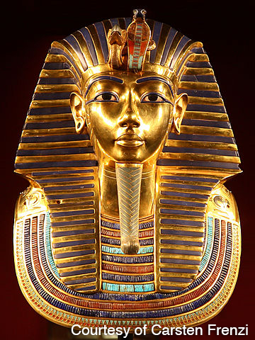 King Tut's Burial Mask