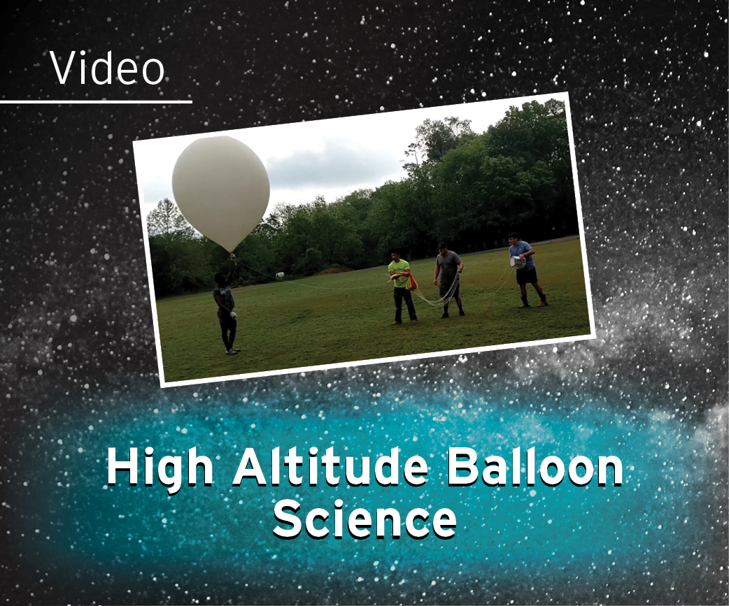 High Altitude Balloon Science Video