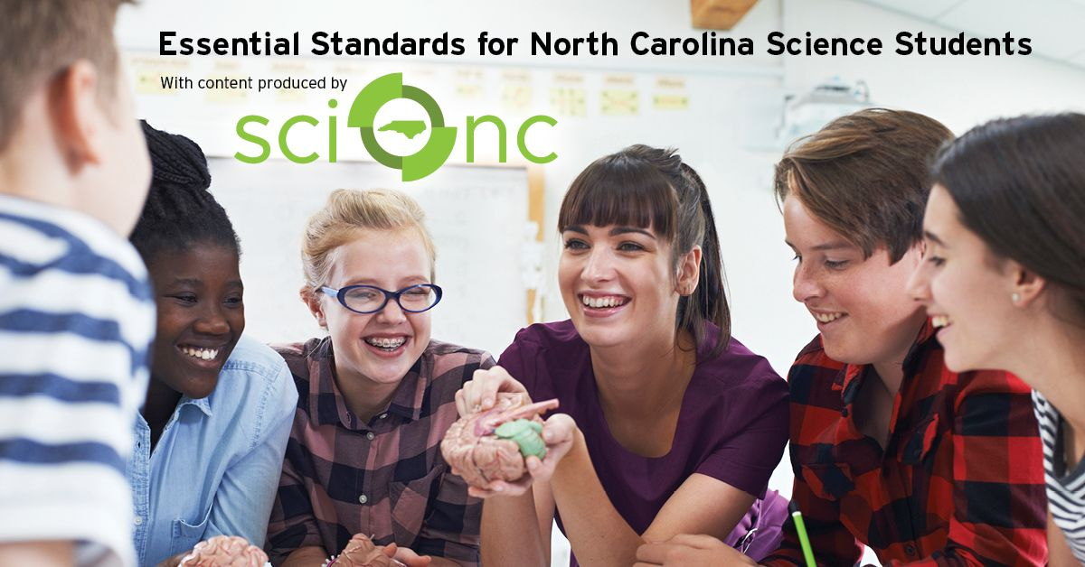 Essential Standards for North Carolina Science Students