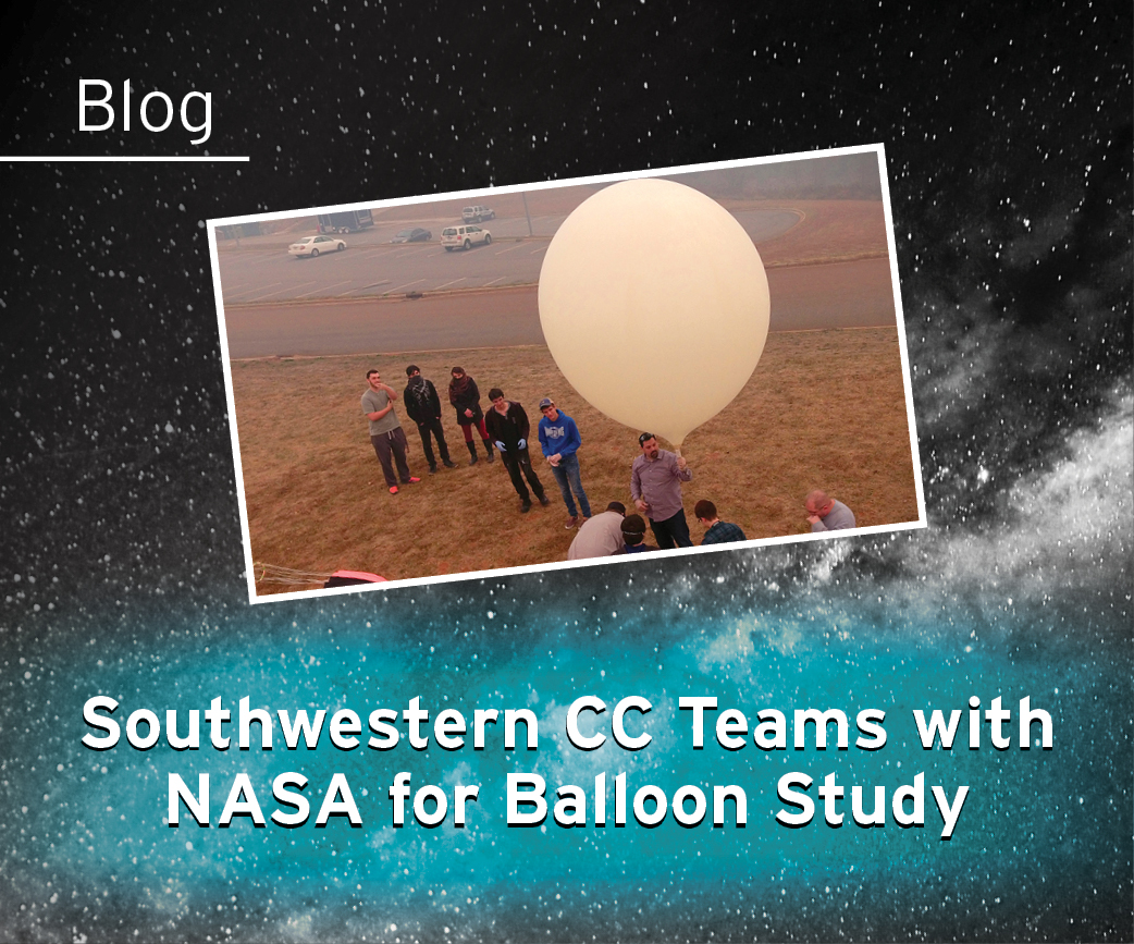 Southwestern CC Teams with NASA for Balloon Study Blog